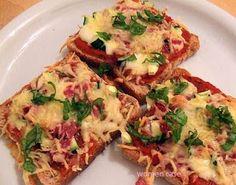 Πιτσάκια με ψωμί του τοστ!