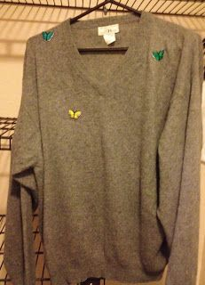 Mend and Make Do: Repairing Small Moth Holes in a Cashmere Sweater