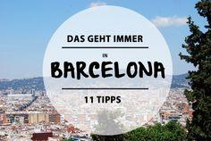 Tipps für Barcelona von @mitvergnügen