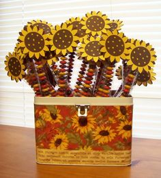 Blooming Where I'm Planted.....: Fall Crafts Show - M Stix