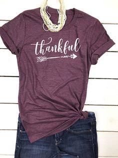 Thankful Shirt, Thankful mama, Thankful tshirt, Grateful Thankful Blessed Shirt, Blessed Mama, Blessed Mama shirts women, Cute Fall Clothes #affiliate