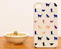 Cat iPhone 4 or 4S Case