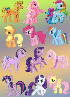 Old vs new!! I've been a pegasister through both!!!