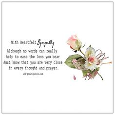 Deepest Sympathy Cards for Condolences Card. Sympathy Poems Deepest Sympathy Words Of Sympathy For Loss Of Pet Sympathy Verses. Sympathy Prayers, Sympathy Verses, Sympathy Card Messages, Words Of Sympathy, Heartfelt Condolences, Deepest Sympathy, Happy Monday Quotes, Mommy Quotes, Cute Quotes