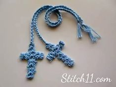 Free Crochet Cross Bookmark - link to free pattern Marque-pages Au Crochet, Crochet Gratis, Crochet Motifs, Crochet Cross, Crochet Flower Patterns, Thread Crochet, Love Crochet, Crochet Flowers, Pattern Flower