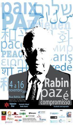 Yitzhak Rabin foi um primeiro-ministro israelense que lutou pela paz assinando acordos e afirmando que israelenses e palestinos podem conviver lado a lado, e cooperar quando necessário.
