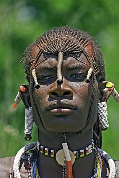 Young Massai warrior of Kenya