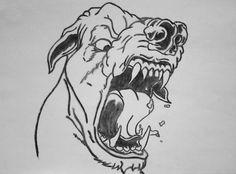 war dog (charcoal) by Ionuț Scurtu (Shortie)