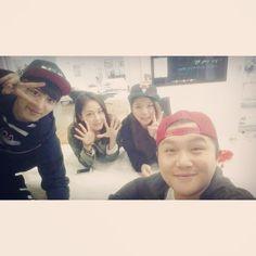 140514 Song Ka Yeoun's Instagram Update with Chanyeol [1P] | EXOSTA12