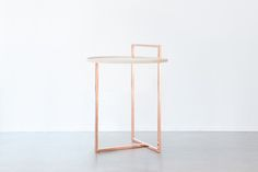 Orbit is a minimalist design created by Sweden-based designer Anny Wang. Orbit is a side table that circulates the room. The round table top...