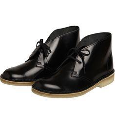 Clarks Desert Boots Hi Shine / Noir | Clarks | MARQUES | E-shop Citadium