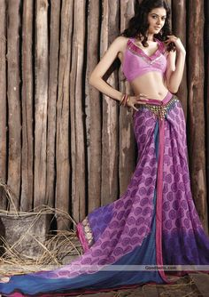 Beautiful Pink & Purple Saree with Superb Border in just $40.00at Goodbells (Price on other sites - $50.00). Click here to buy: http://goodbells.com/saree/beautiful-pink-and-purple-saree-with-superb-border.html?utm_source=pinterest_medium=link_campaign=pin22juneR21P535