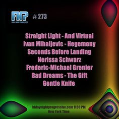 """Check out """"FNP 273 03-24-2017"""" by FRIDAY NIGHT PROGRESSIVE on Mixcloud"""