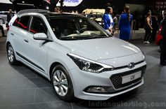 2015 Hyundai front three quarter view at the 2014 Paris Motor Show Compact Suv, Luxury Cars, Volkswagen, Paris, Vehicles, Dream Cars, Wheels, Board, Google