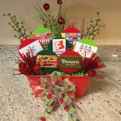 Christmas gift card bouquet holiday ideas christmas gift baskets, gifts и. Christmas Gift Baskets, Teacher Christmas Gifts, Christmas Mom, Xmas Gifts, Diy Gifts, Christmas Crafts, Teacher Gifts, Teacher Gift Baskets, Homemade Gifts
