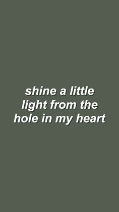 hole in my heart // sleeping with sirens