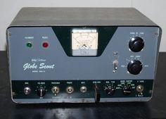 1958 WRL Globe Scout Model 680-A Transmitter