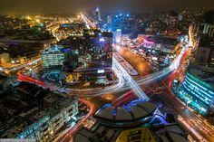 Киев, вид на площадь Победы