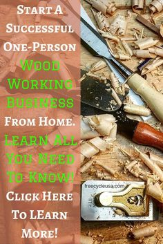 To answer 'how to start a woodworking business from home,' we have to cover some ground. Where you begin depends really on where you are at the moment. Make a great woodworking income with over 500 easy to build, hot-selling wood crafts.Start here. Make great looking wood projects, with ease. Complete DIY guide and plans …