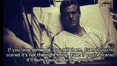 Don't be scared to show love and affection to others - Limites respected of course! #Grey's anatomy.