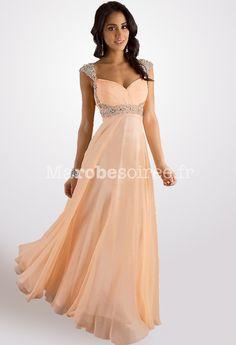 robe de soirée bustier glamour strass