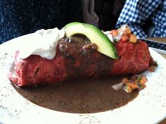 Breakfast Burrito - Green Eggs Cafe