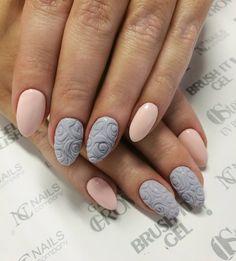 Amazing roses - Sugar Effect & Pastel by Instruktor Nails Company Katarzyna Karaś.