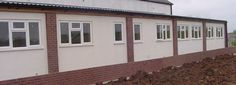Company Offices built using GRP sections from Kingsley Plastics