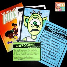 Students discuss overcoming obstacles with this The Wild Card Kids FREEBIE!