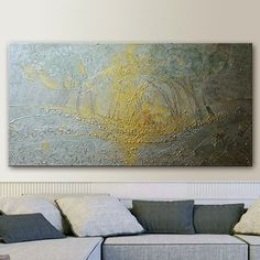 Large ORIGINAL Abstract Painting by Tatjana Ruzin  by studiomosaic, $315.00