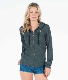 Moclov Zip Sweatshirt - Hoodies & Fleece - Clothing - Women
