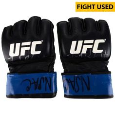 Jared Rosholt Ultimate Fighting Championship Fanatics Authentic Autographed UFC Fight Night: Hendricks vs. Thompson Fight-Worn Gloves - Fought Roy Nelson in a Heavyweight Bout - $249.99