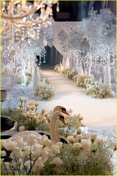 Wedding Venue Decorations, Wedding Themes, Wedding Photos, Magical Wedding, Dream Wedding, Wedding Ceremony, Wedding Venues, Wedding Cake, Wedding Stage Design