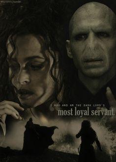 Bellatrix Lestrange y Voldemort