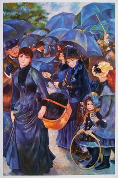 Umbrellas by Pierre-Auguste Renoir