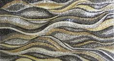 Stone marble mosaic showing a wavy design beautiful and ideal for wall decoration floor tiling and bathroom decor. This handmade mosaic comes in a cool palette of pastel accents. Create a beautiful natural stone Wallpaper to Make it Last for Years and Never Fade or Discolor. Pick one of our optional frames for a custom mosaic wall artwork ready to beautify indoor and outdoor rooms. Mosaic Uses: Floors Walls or Tabletops both Indoor or Outdoor as well as wet places such as showers and Pools.