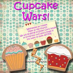 LDS, Young women activity Cupcake Wars- this was a very fun activity