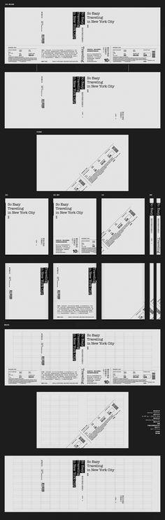 腰封展開為一張機票的旅遊書籍封面設計 | MyDesy 淘靈感