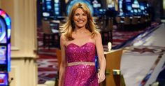 """Vanna White Says She's Never Repeated A Dress On """"Wheel Of Fortune"""" http://www.refinery29.com/2017/03/147966/vanna-white-wardrobe-wheel-of-fortune?utm_campaign=crowdfire&utm_content=crowdfire&utm_medium=social&utm_source=pinterest"""