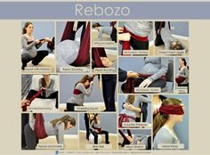 Rebozo during pregnancy and labor