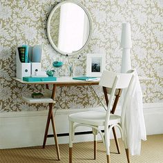 DIY Home Office – Small Spaces