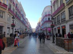 #Málaga. Calle Marqués de Larios esta tarde. 6/04/2017  Málaga ayer y hoy