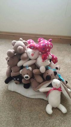 Lots of teddies on their way to Africa