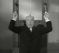 BROTHERTEDD.COM - ac-22: Alfred Hitchcock - Mr. mystery, suspense... Alfred Hitchcock, Gif Animé, Animated Gif, The Cw, Mundo Gif, Cro Magnon, Les Gifs, The Good Witch, Comme Des Garcons
