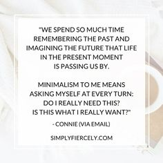 I asked thousands of readers what they think it *really* means to be a minimalist. Here's what you had to say.