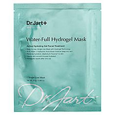 small, spill-proof, and excellent for rehydrating faces that are severely depleted of moisture, after spending a long time on a plane. (Dr. Jart+ - Water Fuse Water-Full Hydrogel Mask)