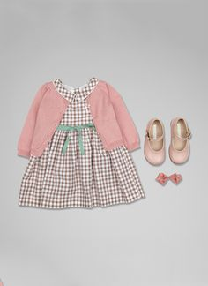 Baby Girl Look 15 at Marie-Chantal US Baby Girl Fall Outfits, Girls Summer Outfits, Little Girl Outfits, Baby Girl Fashion, Kids Outfits, Kids Fashion, Newborn Clothing, Newborn Outfits, Frocks For Girls