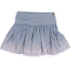 Køb Blålig sofia nederdel fra marmar hos HoppeLoppe