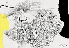 lady-fashion-illustration.jpg (imagem JPEG, 1500 × 1061 pixels)