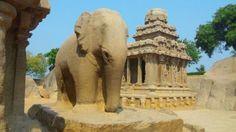 빤치 라타스 Panchi Rathas의 코끼리 석상 -byljs2011